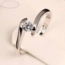 Silver Plated Finger Ring For Women