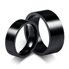 Black Finger Ring for Men