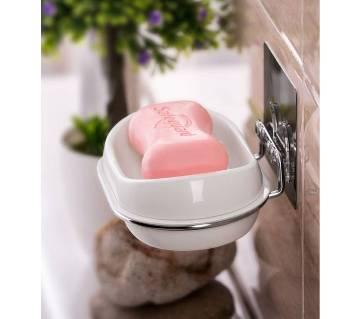 Soap Dish Plastic Adhesive সোপ হোলডার