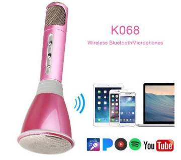 Wireless Karaoke K068 Player Microphone Bluetooth