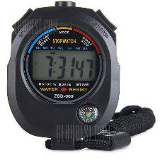 LCD Sport Watch with Compass Time Alarm Date Calendar Function