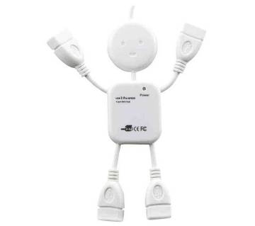 Human shaped USB Hub (4 ports)