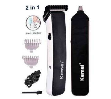 kemei 2 in 1 hair and beard trimmer