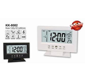 LCD Clock KK-8082