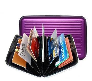 Aluminium credit card holder