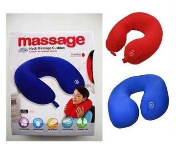 Vibrating Neck Massager Travel Pillow (1Pc)