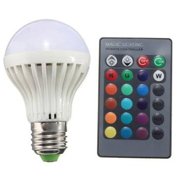16 color changing led light remote control 10W