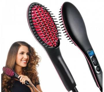 Simply Straight Ceramic Brush Hair Straightener