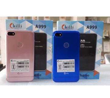 Chilli A999 Dual Sim Dual Camera card Phone intact