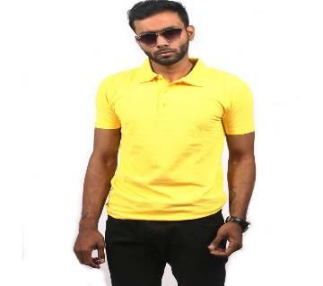 জেন্টস ক্যাজুয়াল PK শার্ট - হলুদ