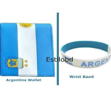 Argentina Wallet & Bracelet Combo Pack