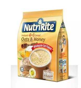 Nutririte Ceral 4 in 1 (Oats & Honey) 18 pcs