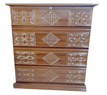 MDF WARDROBE DELUXE 4 CHEST OF DRAWER