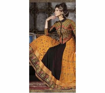 Unstitched Georgette Long Dress