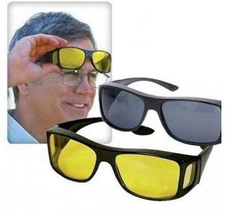 2 In 1 night vision sunglasses