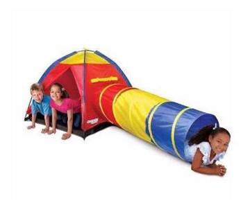 Kids Adventure Play Tent with Tube