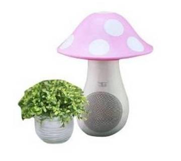 USB Mushroom LED Light cum Speaker