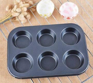 Cup cake mould-6 pcs