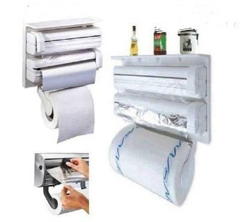 3 in 1 kitchen foil and tissue roll dispenser