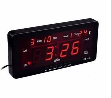 CASIO CX-2158 Digital LED Alarm Clock