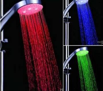 Multi color LED light shower- 1 pc