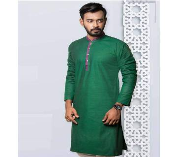 Indian Menz Cotton Semi Long Panjabi