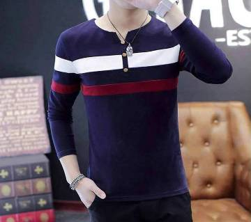 Menz Full Sleeve Casual T-Shirt