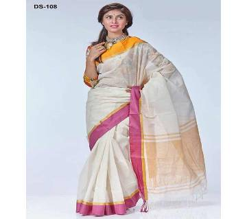 Boshakhi Taant Cotton Sharee