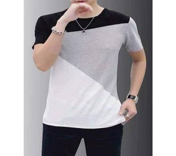 Gents Half Sleeve Round Neck T-Shirt