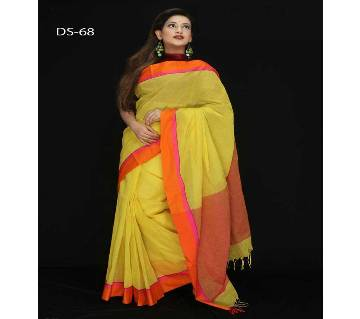 Dhanshiri Taant Cotton Saree