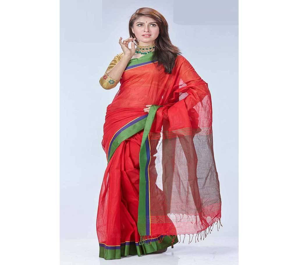 ধানসিঁড়ি তাঁত কটন শাড়ী বাংলাদেশ - 906273