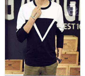 Full Sleeve Gents Casual T-Shirt
