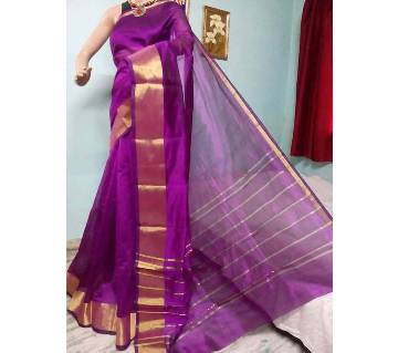 Colorful half silk sharee