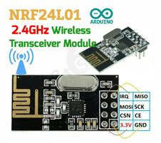 NRF24L01 Wireless Transceiver Module