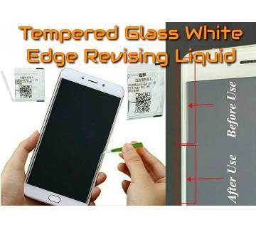 White Edge Revising Liquid টেম্পার্ড গ্লাস