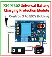XH-M602 Digital LED Battery Charging Control Module