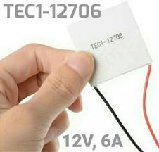 Thermoelectric Cooler Peltier TEC1-12706