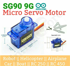 Micro Servo Motor SG90