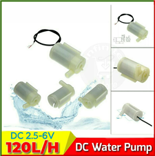 DC Submersible water pump Horizontal Type 120L/H