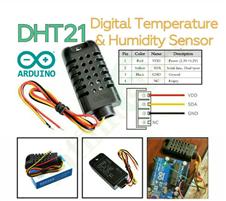 DHT21 Digital TH Sensor for Arduino