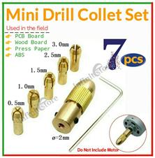 Mini Drill Chuck Collets Set