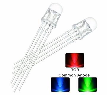 10pcs/lot RGB LED 5mm Common Anode