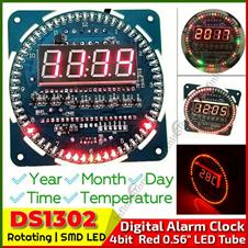 DS1302 Rotating Alarm Clock