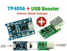 TP4056 + USB Booster