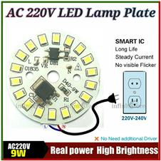 AC 220V LED Lamp 9W PCB Plate
