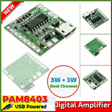 PAM8403 USB Power Class D Amplifier