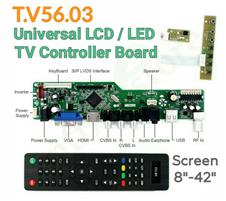 T.V56 Universal LCD LED TV Controller Board