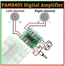 PAM8403 Mini Digital Amplifier 3W