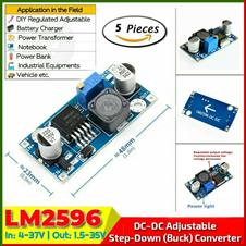 DC Step Down Converter LM2596 5pcs