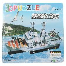 3D Puzzle HMS Norfolk Frigate